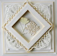PartiCraft (Participate In Craft): Fancy Poppy Frame - with Video Tutorial - 16th December 2015