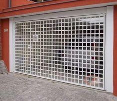 SERRALHEIRA ESTRUTURAL: Modelos de portões aberto House Gate Design, House Front Design, Fence Design, Windows And Doors, Pergola, Home Appliances, Outdoor Structures, Patio, Industrial
