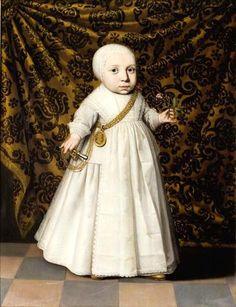 Wybrand de Geest (attr.), Portrait of a child, ca. 1635 - Fries Museum Leeuwarden