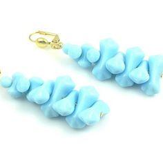 #OpenSky                  #Women                    #Vintage #Pale #Blue #Gold #Earrings                Vintage Pale Blue and Gold Earrings                                           http://www.snaproduct.com/product.aspx?PID=5807458