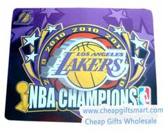 NBA Star Lakers Championship 2010 Commemorative Mouse Mat