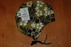 The Mad Hatter Earflap Hat  Kids Olive Hawaii $29.00 #MadHatter #EarFlap