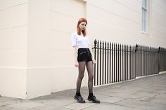 Get this look: http://lb.nu/look/8340330  More looks by Hannah Louise: http://lb.nu/hannahlouisef  Items in this look:  Missguided Zip Up Shorts   #casual #punk #street