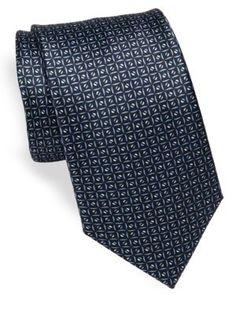 BRIONI Printed Silk Tie. #brioni #tie