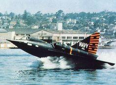 Convair YF2Y-1 Sea Dart.  The Worlds Fastest Flying Boat