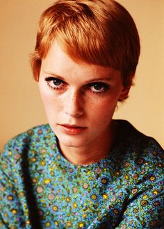 Mia Farrow by Terry O'Neill.