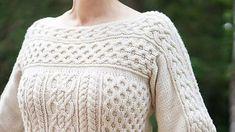 Ravelry: Sisal Sweater pattern by Carolyn Wyborny