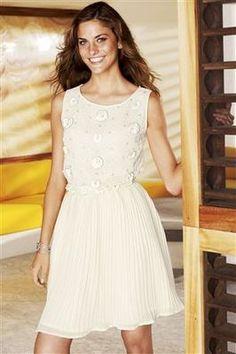 Next Cream Dress