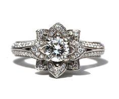 Engagement ring -- love this design