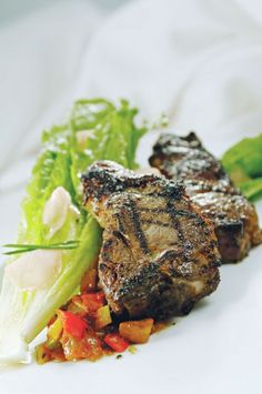 Grilled Ginger Lamb Chops