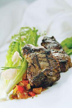 Grilled Ginger Lamb Chops