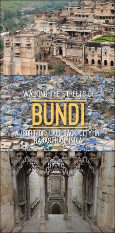 Walking the Streets of Bundi, a (sort of) Laid-Back City in Rajasthan, India A quick guide to Bundi, a laid back city in Rajasthan, India Source by theworldisabook. India Travel Guide, Asia Travel, Travel Nepal, Travel Vlog, Travel List, Udaipur, Places To Travel, Travel Destinations, Places To Visit