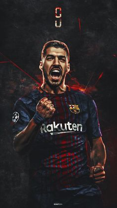 Luis Suarez #football #barcelona #art #suarez