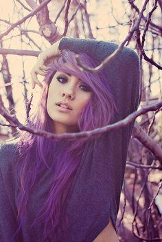 purple hair <3