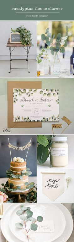 Eucalyptus theme shower, greenery baby shower, eucalpytus invite Blog — Rook Design Co.