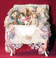 Victorian Toy Box by Lynn McEntire