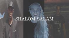 """Ave Maria Salam Shalom - """"Yuliana, chanteuse Russe de passage à Paris en 2014 tombe par hasard sur cette chanson à la radio et décide en rentrant chez elle à Krasnodar en Russie de la produire. Sur internet elle fait la connaissance d'un rappeur de confession israëlite: Rodjo, et d'un rappeur de confession musulmane, VSteh et leur demande de s'associer à elle pour interpréter cette chanson et ainsi prouver que trois artistes de confessions différentes pouvaient parfaitement s'entendre dès…"""