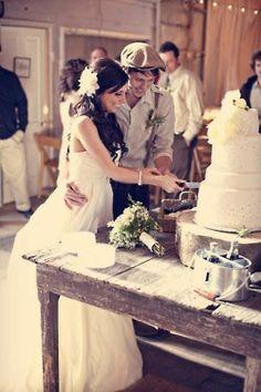 Tortas de casamiento: el corte de la torta