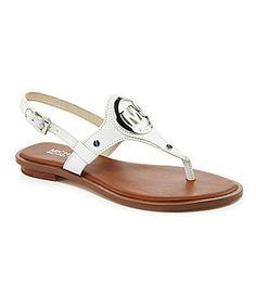 702071bd4f87 MICHAEL Michael Kors Aubrey Charm Sandals  Dillards Michael Kors Outlet  Sale