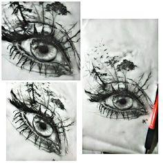 #Special..#eye sketch..#sketch #sketchoftheday #realistic #draw #drawing #drawings #art #artwork