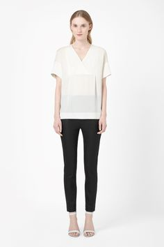 """A MUST have """"classic"""" White T COS 