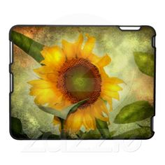 Glory Sunflower iPad Case