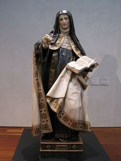 Do lay people have a different path to holiness than priests and religious? What does Teresa of Avila say about this in the third mansions? Saint Teresa Of Avila, Father Son Holy Spirit, Faith Of Our Fathers, Faith Sayings, Friend Of God, St Clare's, D Avila, Religious Paintings, St Therese