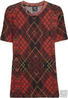 2. #Tartan T-shirt - 9 Top #on-Trend Tartan Buys for Your Fall Wardrobe… #Jeans