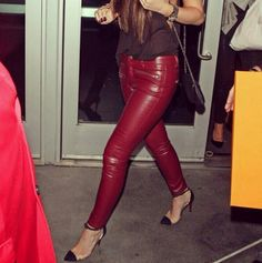 7eeab310132 Leather pants Kendall And Kylie