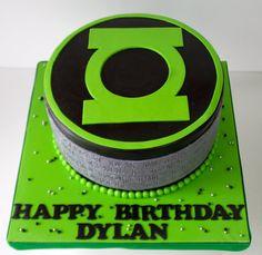 Celebrate with Cake!: Green Lantern