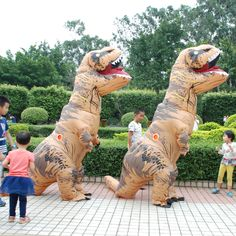 Costumes & Accessories Good Adult T-rex Inflatable Costume Christmas Cosplay Dinosaur Animal Jumpsuit Halloween Costume For Women Men To Win Warm Praise From Customers