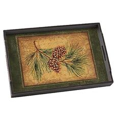 Cabin Kitchens, Lodge Decor, Rustic Homes, Pinecone, Serving Trays, Cabin  Fever, Kitchen Accessories, Lodges, Dinnerware