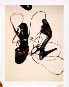 Halston Heels, Polaroid by Andy Warhol 1981 The Smiths, Eugene Atget, Anita Pallenberg, Joe Strummer, Elvis Costello, Debbie Harry, Man Ray, Andy Warhol Photography, Pittsburgh