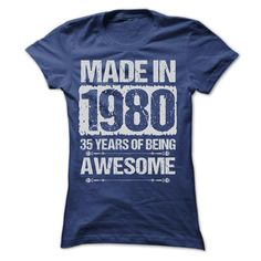 (Tshirt best Sell) MADE IN 1980 ST4 Tshirt Best Selling Hoodies, Tee Shirts