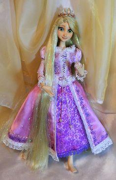 For SALE NOW Disney Tangled Rapunzel OOAK doll by DanielMinaev