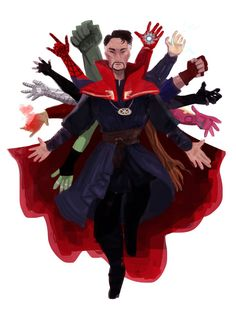 Doctor Strange and the Avengers fan art. Marvel Art, Special Pictures, Marvel Wallpaper, Marvel Dc Comics, Drawings, Comics