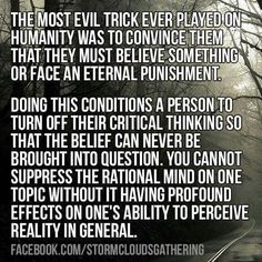 I have noticed that blind faith doesn't just happen in religion. People who were raised to not question religious beliefs aren't able to question any other indoctrinated beliefs. Losing My Religion, Anti Religion, Famous Atheists, Atheist Quotes, Atheist Humor, Question Everything, Badass Quotes, Critical Thinking, Thought Provoking
