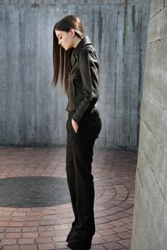 Black Is Back - Faith Connexion Jacket & Rick Owens Pants