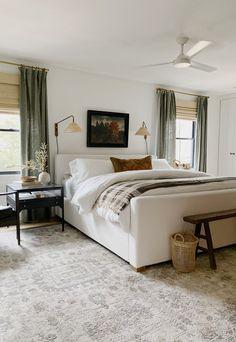 Home Bedroom, Bedroom Decor, Bedroom Ideas, Teen Bedroom, Brown Master Bedroom, Casual Bedroom, Blue Bedrooms, Bedroom Signs, Decorating Bedrooms