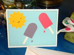 Cricut Card - uses Just Because Cards