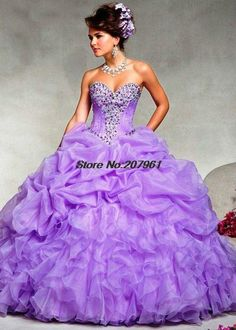 >> Click to Buy << Quinceanera Dresses 2016 Custom Ball Gown Sweetheart Neckline Sleeveless Sequined Detachable Tulle FF0011QU #Affiliate