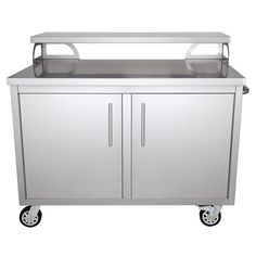 Casa Nico Stainless Steel 48 in. x 43 in. x 30 in. Portable Outdoor Kitchen Cabinet and Patio – The Home Depot Casa Nico Stainless Steel 48 in. x 43 in. x 30 in. Portable Outdoor Kitchen Cabinet and Patio Bar