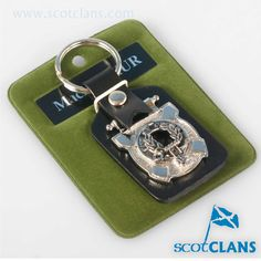 MacArthur Clan Crest Key Fob. Free worldwide shipping available