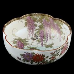 satsuma pottery | The Japanese Satsuma Pottery Bowl has been added to your saved items.