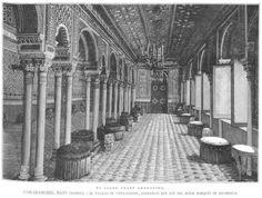 Salón Árabe del Palacio del Marqués de Salamanca en la Quinta de Vista Alegre. Madrid