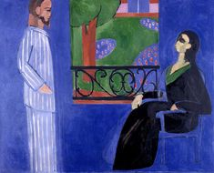 Matisse The Conversation oil painting reproduction on canvas