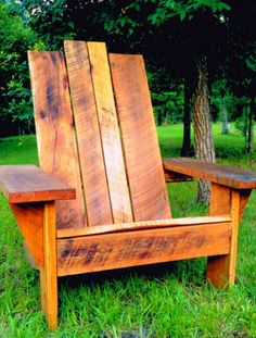 Big Man Distressed wood chair by Signature Chairs, http://bigmanchair.com/big-man-patio-chairs.htm