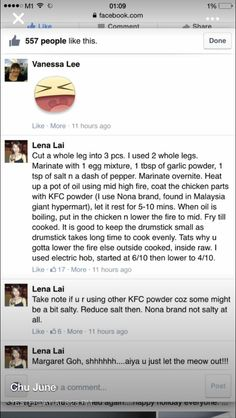 KFC fried chicken recipe part 2