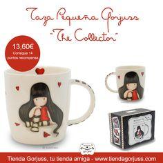 """Taza Pequeña Gorjuss """"The Collector""""  Preciosas tazas Gorjuss que harán que tus tés o cafés sean aún más maravillosos.   #Gorjuss #TazaDesayuno #TiendaGorjuss"""