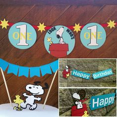 Snoopy birthday party decor   https://www.etsy.com/listing/257853683/snoopy-party-snoopy-birthday-birthday